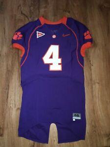 DeShaun Watson Clemson Tigers Camiseta De Fútbol Nike Talla 46 #4 ...