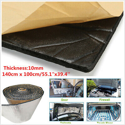 Doors Boot 1.4*1m Fiberglass Sound Proofing Mat for Car Roofs Wheel Arches