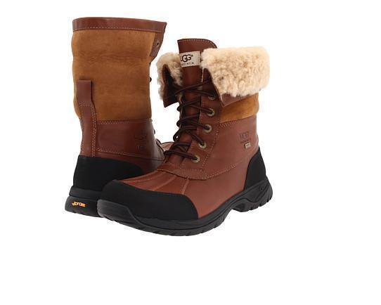 f9e360d1824 UGG Australia Men Snow BOOTS Butte Waterproof Event Leather Navy 1002778 9