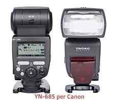 YONGNUO YN685 speedlite E-TTL Flash per Canon wifi EOS  1000D 1100D 1200D 1300D