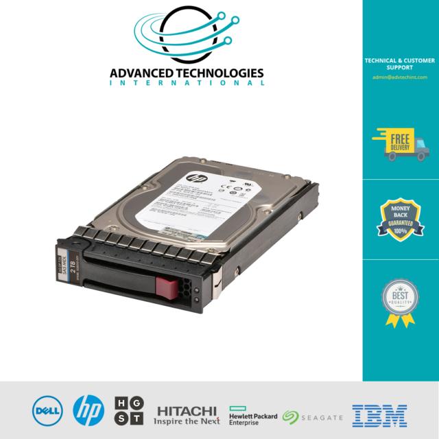"HP 2TB 7.2K RPM 3.5/"" LFF 6G SAS HDD 507616-B21 508010-001 507613-001 NEW BULK"
