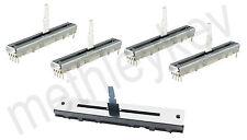 4 x FADER & 1 x CROSSFADER KIT FITS PIONEER DJM800 or DJM700 DCV1020 DCV1006