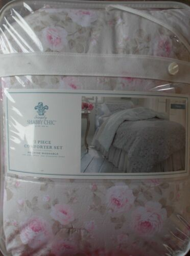 Simply Shabby Chic TWIN Dutchess Blossom Rose Comforter Sham ~ NEW
