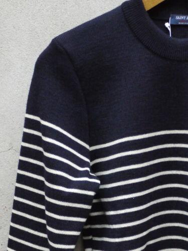 strisce 100 crema lana By Ii Sailors Binic James blu Saint e Jumper Breton UnPF0788