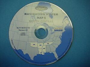 Image Is Loading 4v Ford Navigation Cd La Ok Ar Nav