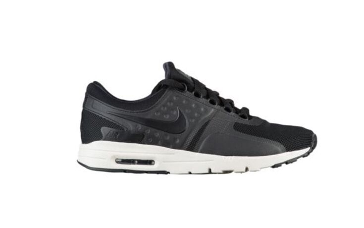 NEW Femme Nike Air Max Zero chaussures Sneakers Taille: 7 Color: noir