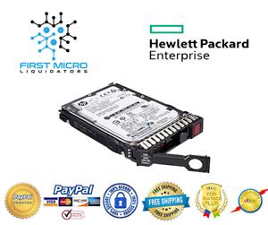"NEW BULK HPE 300GB 12G SAS 10K SFF 2.5/""  SC DS FW HDD HP 872475-B21 872735-001"