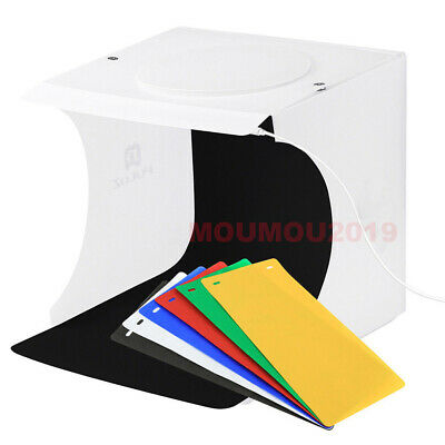 Foldable Portable Photo Mini Light Box Studio Tent Home Photography LED Lights