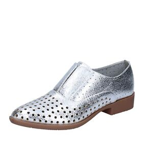 332cbda62e8c86 Image is loading Womens-shoes-FRANCESCO-MILANO-36-EU-Elegant-Silver-