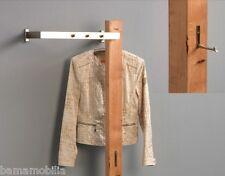 Garderobe Holz Massiv ~ Garderobe wandgarderobe kleiderhaken santiago wildeiche massiv