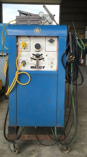 Miller 330a/bp Gas Welder 300a 05191340022