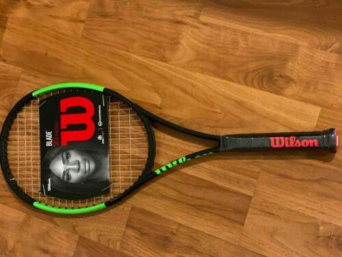 Wilson Blade 98 S 18X16 droits compensateurs Raquette de tennis enfilées nouveau Grip 4 1//4
