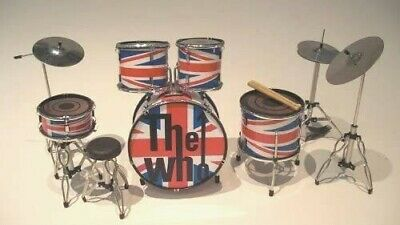 Details about  /RGM338 The Who Miniature Drum kit