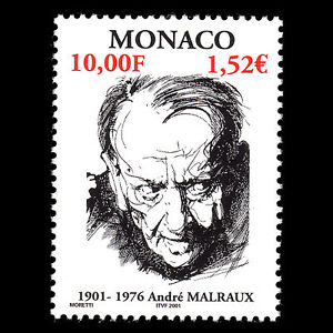 Monaco-2001-Birth-of-Andre-Malraux-Writer-Sc-2207-MNH