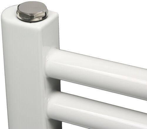Heizkörper Badezimmerheizung von El Fuego® Handtuchtrockner Weiß 60 x 77 cm