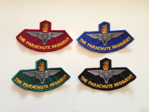 Embroidered Patches Sew On The Parachute Regiment Badges Biker Patch