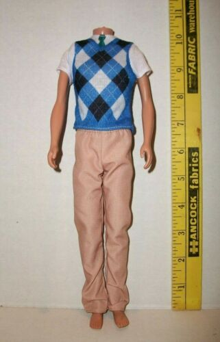 MATTEL BARBIE FITS VINTAGE KEN DOLL CLOTHES SET 2019 DISCONTINUED NEW FROM BOX