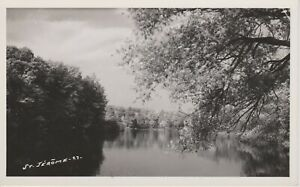 St-Jerome-Quebec-Real-Photo-Vintage-Postcard-Free-Shipping