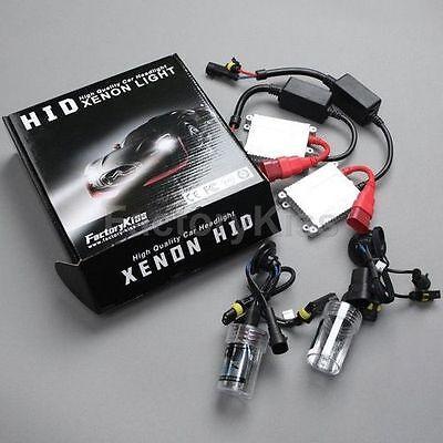 JAGUAR X-Type Estate 06//01-HID Xénon lumière Kit de Conversion Slim Ballast H1
