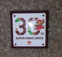 Super Mario Maker 30th Anniversary Collector Button 1 Exclusive Event