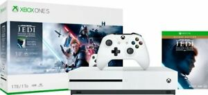 NEW-Microsoft-Xbox-One-S-4K-HDR-1TB-Star-Wars-Jedi-Fallen-Order-Console-Bundle
