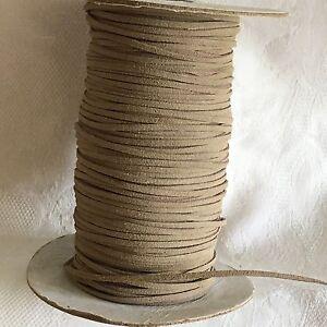 5m 3mm de cable de ante de imitación String Tanga en Fawn #1025  </span>