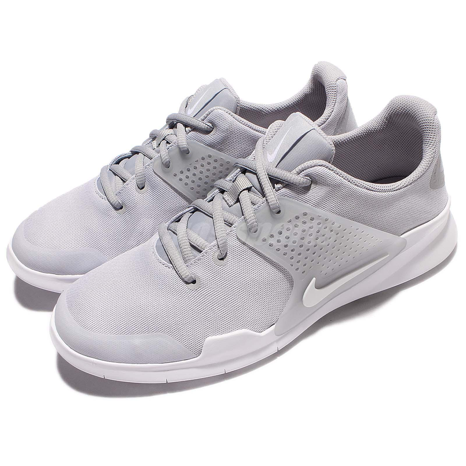 [902813-001] MEN'S NIKE ARROWZ RUNNING TRAINING SNEAKERS WOLF GREY WHITE 8-12