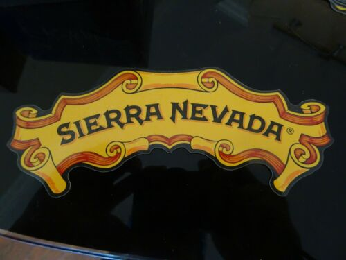 CA Bumper Sticker Crest Logo Sierra Nevada Brewing Co Brewery Beer Chico
