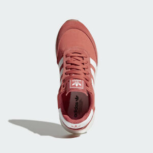Women BB6864 Adidas INIKI Running shoes red white sand sneakers