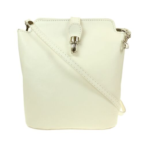 Damen Mode Echte Italienisches Leder Bunt Umhängetasche Kuriertasche SB019