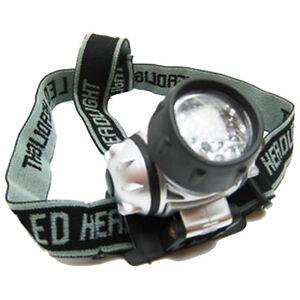 USB Rechargeable Headlight Head Torch Flashlight 3 Modes COB LED Head Lamp