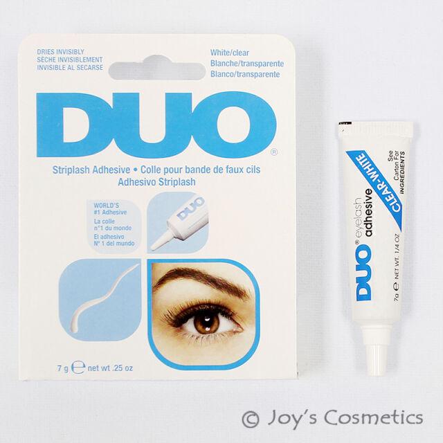 """1 Duo Imperméable Cil Adhésif (Colle ) - """" 7g Blanc/Transparent """" Joy's"""