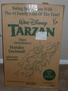 Walt-Disney-039-sTarzan-tandee-Cardboard-Cutout-Movie-Store-Display-2000-POP-E2893