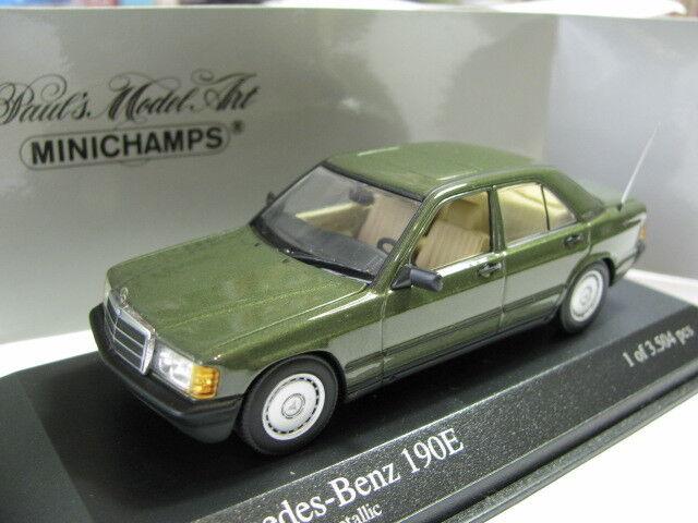 n ° 1 online 1 43 Minichamps Mercedes Benz 190E (1984) (1984) (1984) verde diecast  il miglior servizio post-vendita