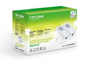 Modem-PLC-TP-LINK-TL-PA4010PKIT-2x-AV500-Powerline-500-mbps-PLCs-Red-Ethernet