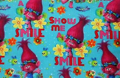 TROLLS Poppy pink blanket Nap Mat Cover 5 choices of sets Kindermat Cover