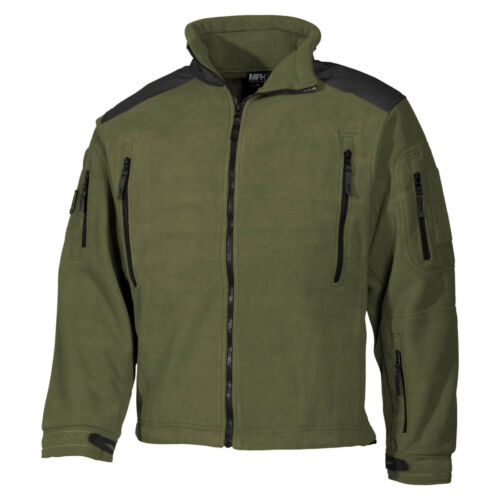 Trekking Heren Hiking Visserij Mfh Heavy Fleece Jack Green Buiten Strike Od 0nZqRn1