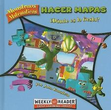 Hacer mapas / Making Maps: Donde Es La Fiesta? / Where's the Party? (Monstruos M