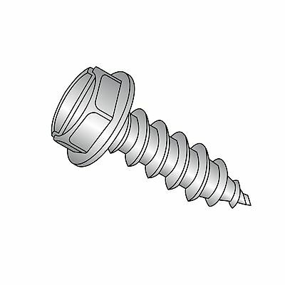Plain Finish Pack of 100 #6-18 Thread Size Type A 5//8 Length Phillips Drive Truss Head 18-8 Stainless Steel Sheet Metal Screw