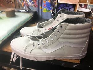 873fd081e8 Image is loading Vans-SK8-Hi-Reissue-Mono-Surplus-Microchip-Size-