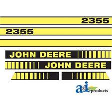 John Deere Parts DECAL SET HOOD  JD408 2355