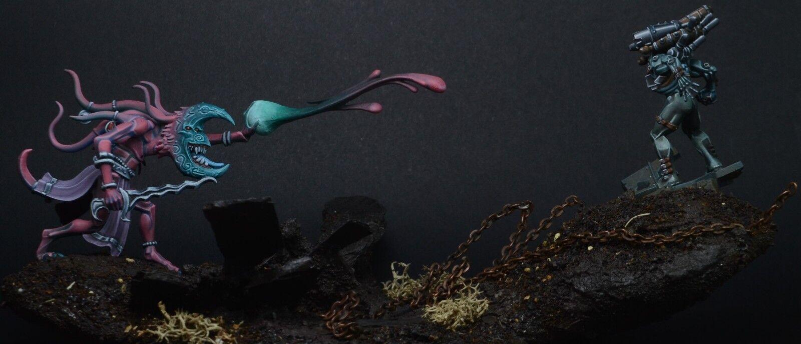 Culexus Assassin - Tzeentch Herald - Duel - golden Demon Finalist