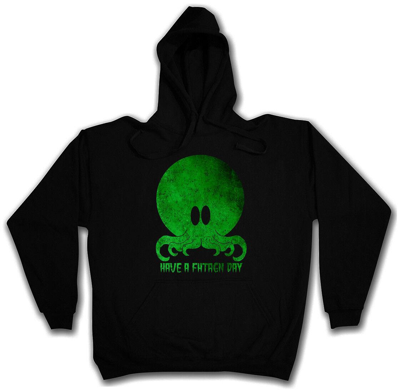 Miskatonic Lovecraft P CTHULHU GREATNESS HOODIE SWEATSHIRT Wars Arkham H