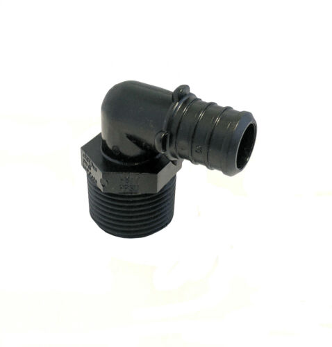 Barb x MIP Libra Supply 3//4 inch 10 pcs 3//4-inch PPSU PEX Male Elbow 3//4/'/'