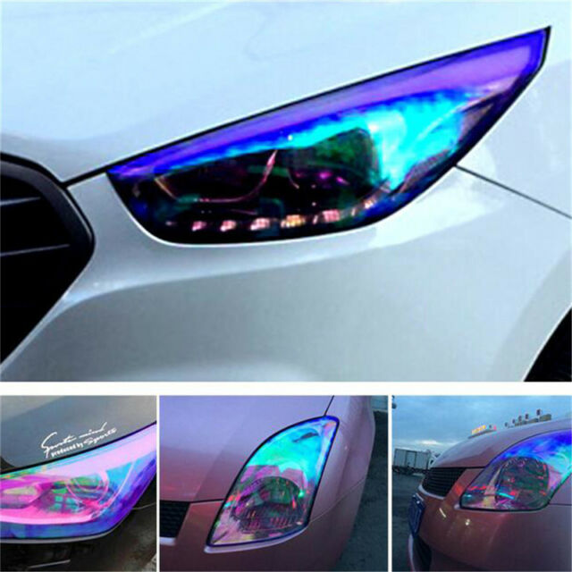Appearancnes Car Light Film Car Chameleon Lamp Film Headlight Color Film Tail Lamp Film