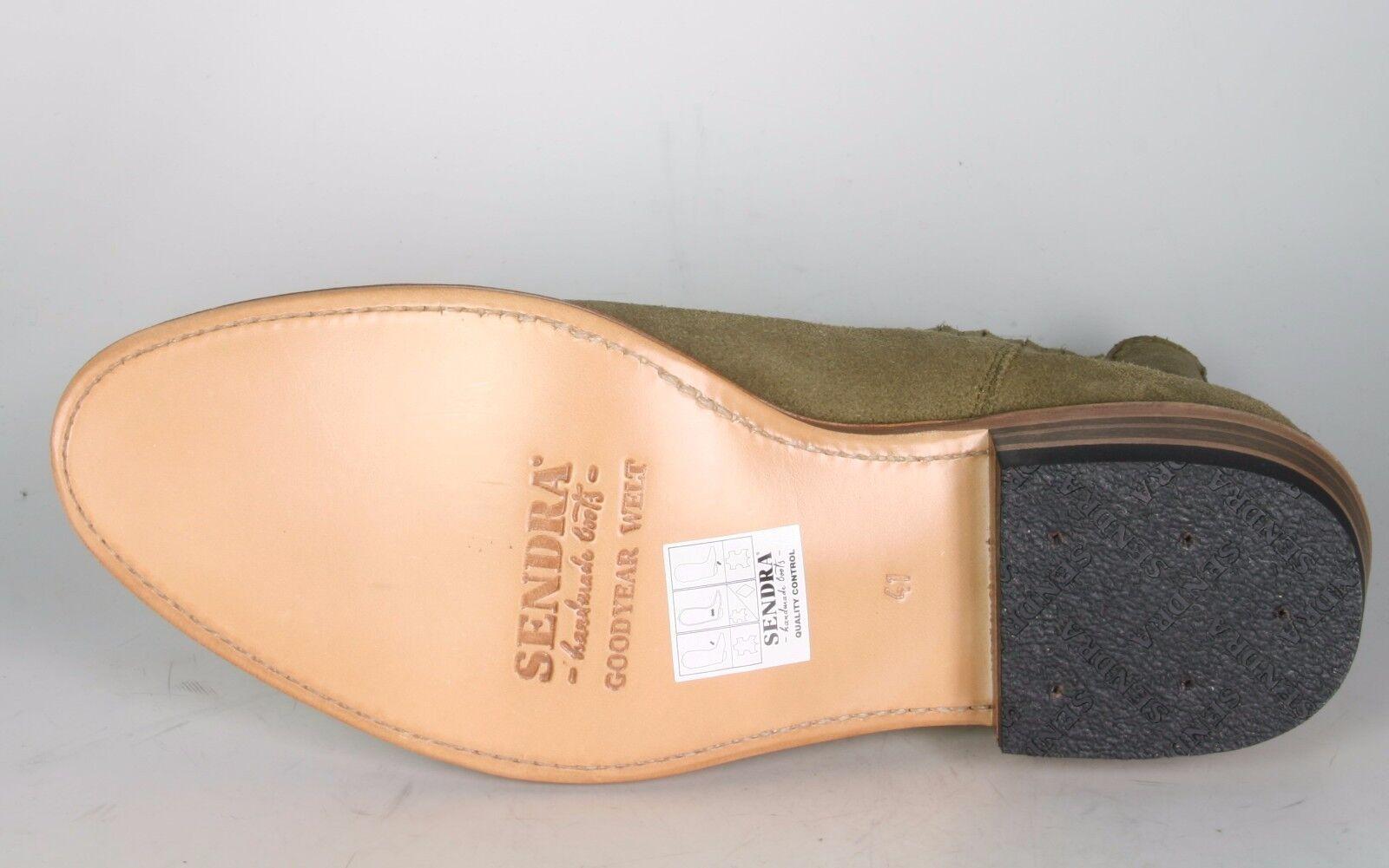 11336 Sendra Wildleder Stiefeletten KASS Serr. Fango Wildleder Sendra Rahmengenähte Schuhe d09874