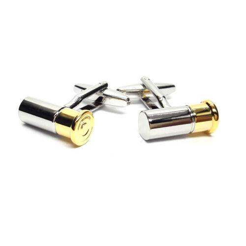 2 Tonos Metal Escopeta Cartucho Mancuernas bolsa De Regalo