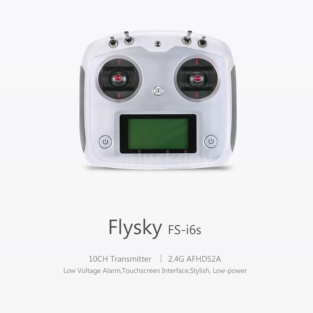 Flysky FS-I6s Transmitter FS-IA6B Receiver 10 CH 2.4GHz AFHDS 2A RC System R0C4