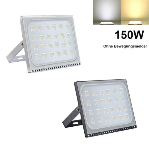 LED Fluter 20W 30W 50W 100W 300W 500W Außen Strahler Flutlicht Ultra Dünn IP65