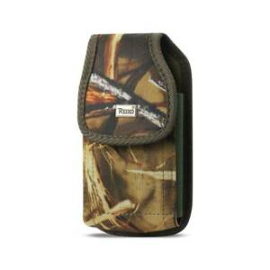 REIKO-Heavy-Duty-Camouflage-Canvas-Case-Pouch-Metal-Clip-Belt-Loop-for-Phones